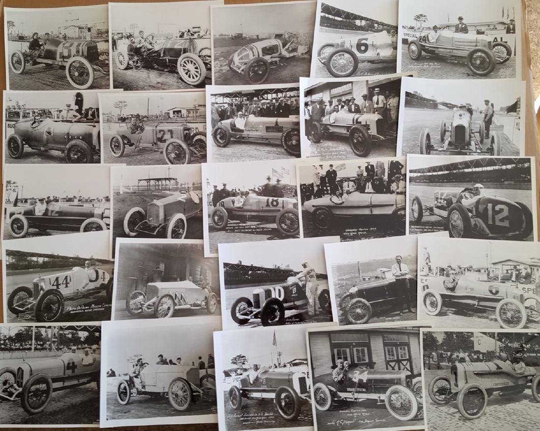 100 8 x 10 teens-1920's race photos - 2