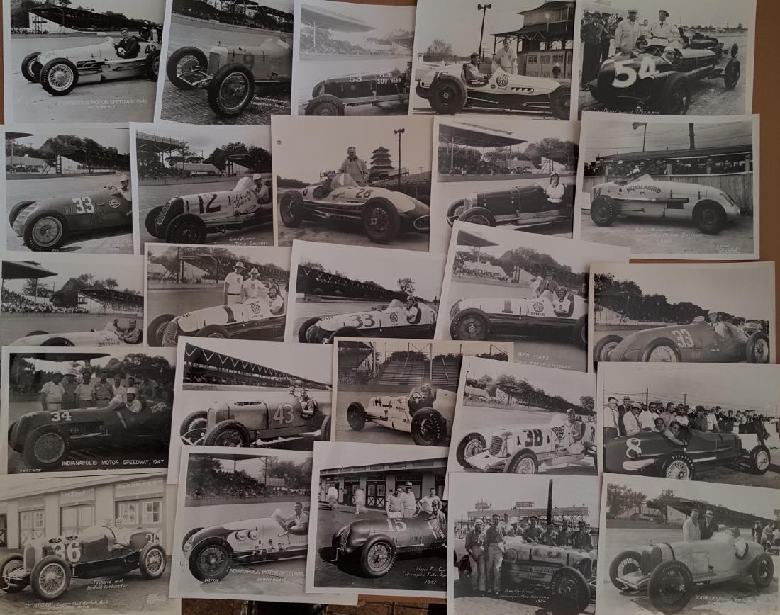 100 1930's-1940's race photos - 2