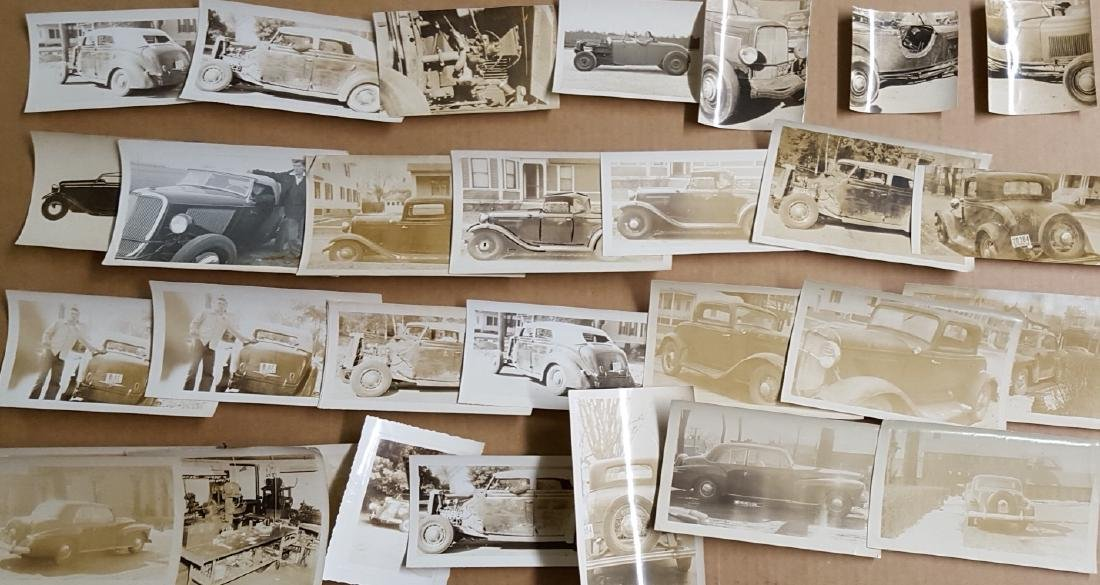 Snap shot photos - hot rods, 32 Fords - 2