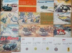 Castrol race yearbooks,