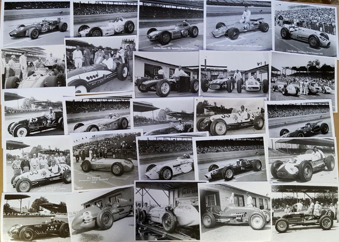 100 1950's-1960's race photos - 3