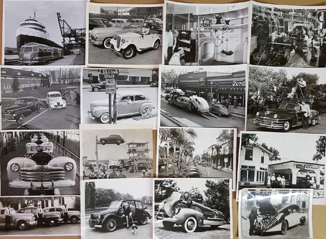 48 1930's - 1940's original press photos