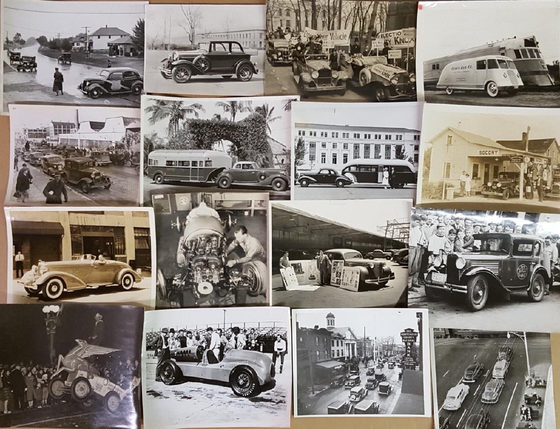 48 1930's - 1940's original press photos - 2