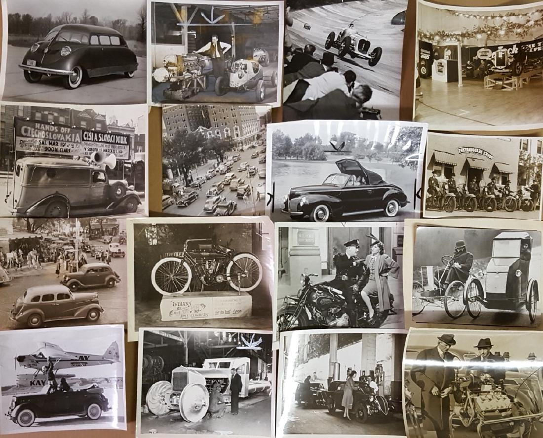 48 1930's - 1940's original press photos - 3