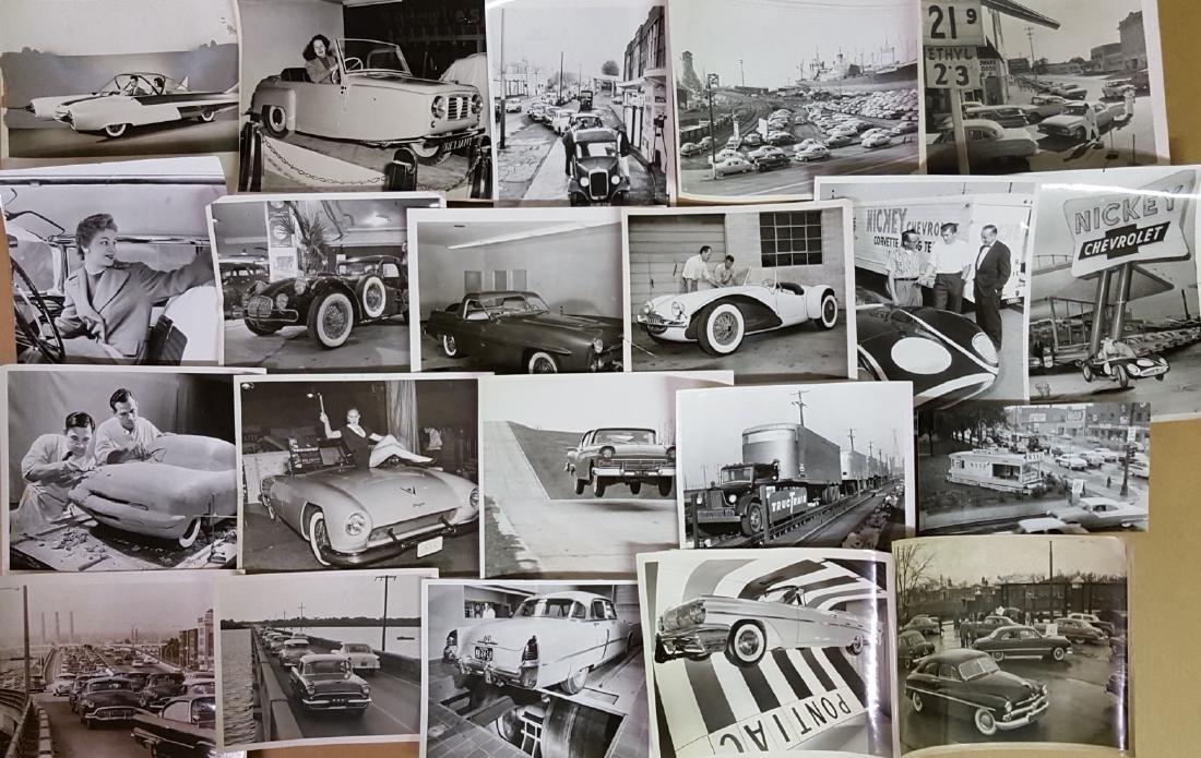 65 1950's-1960's original press photos