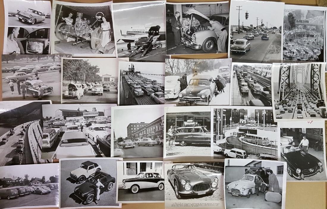 65 1950's-1960's original press photos - 2