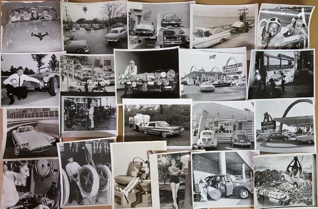 65 1950's-1960's original press photos - 3