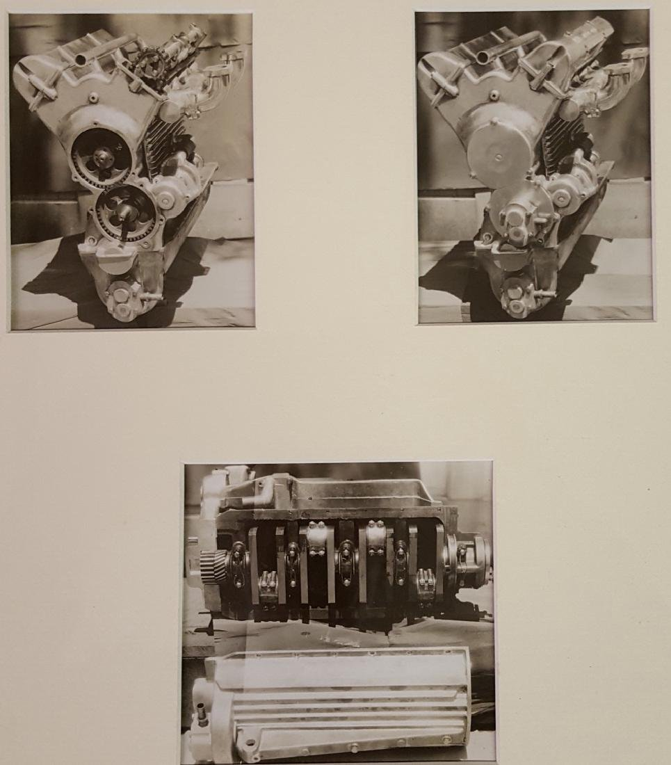Full HAL race motor photos and letter - 3