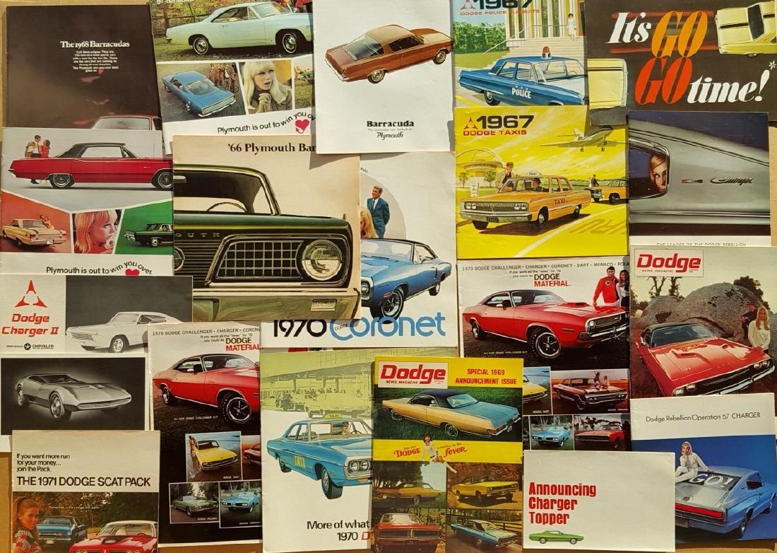 Chrysler prod - early 1970's brochure