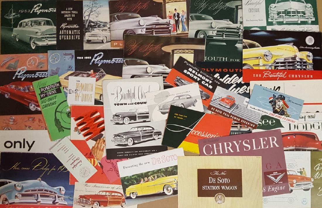 1949-1953 Chrysler products - some exports