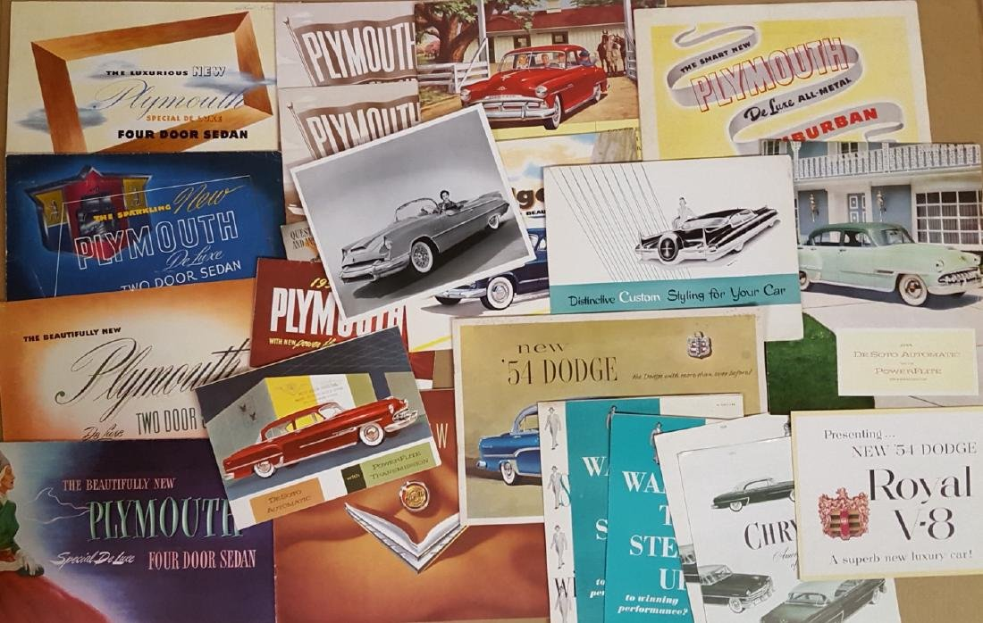 1949-1953 Chrysler products - some exports - 2
