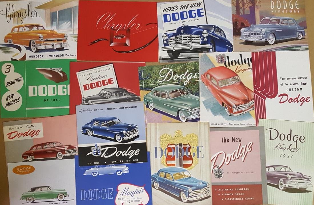 1949-1952 Chrysler products expor broc
