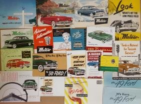 1949-1953 Ford and Meteor brochures