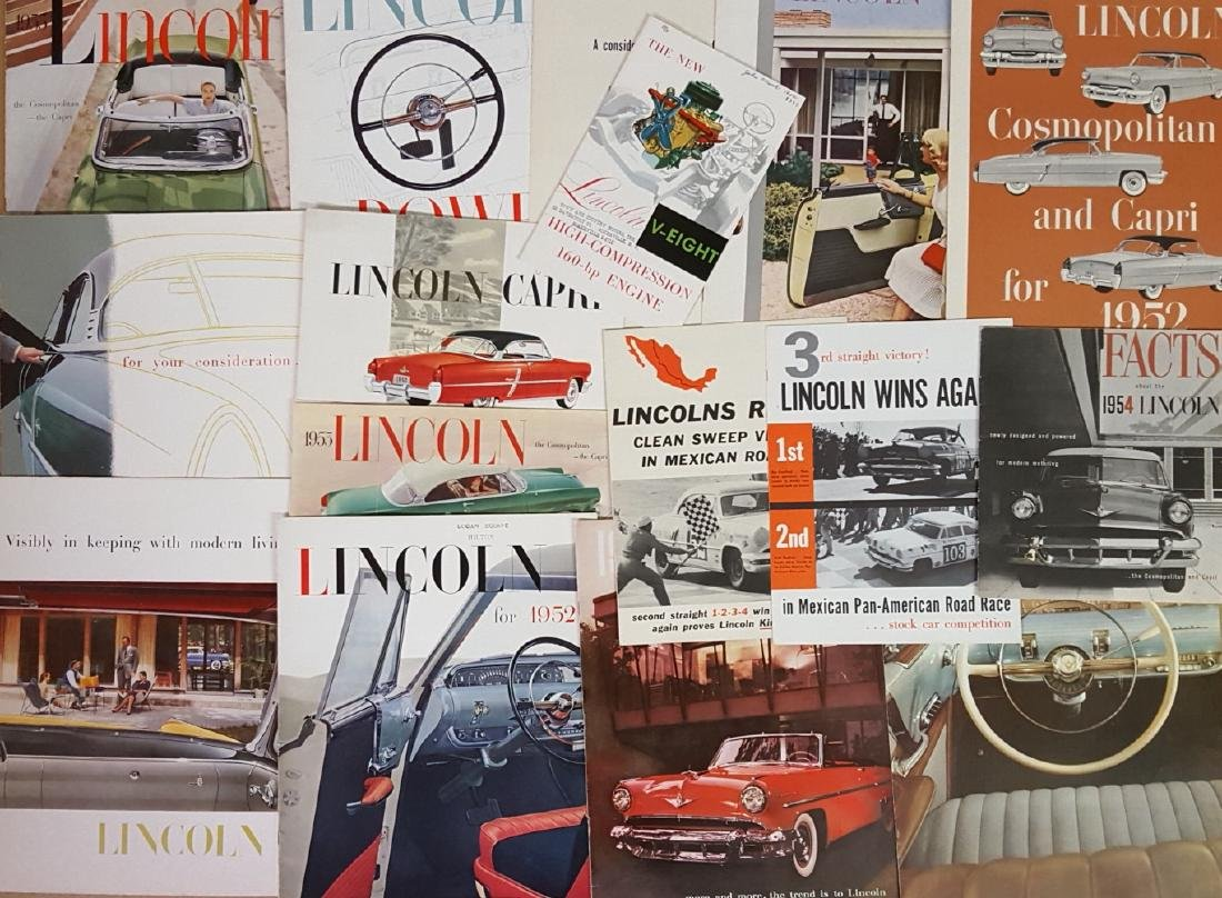 1952-54 Ford products brochures