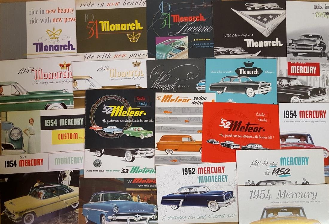 1952-54 Ford products brochures - 3