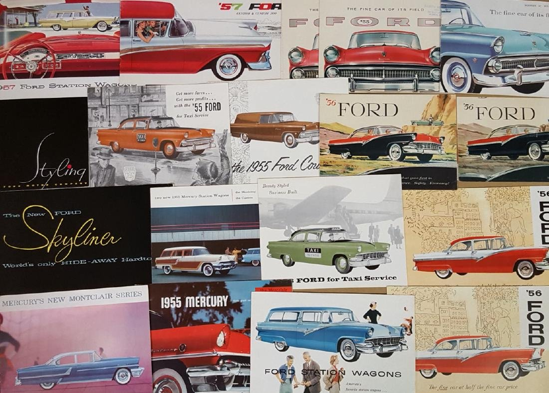 1955-1957 Ford Products brochures