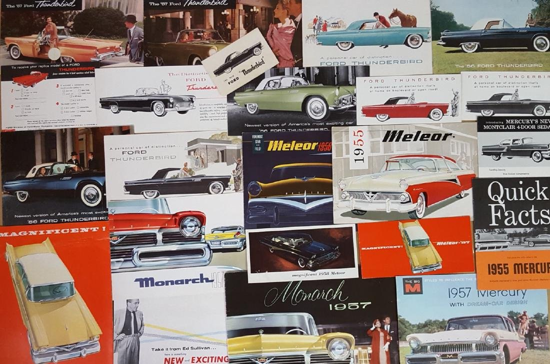 1955-1957 Ford Products brochures - 2