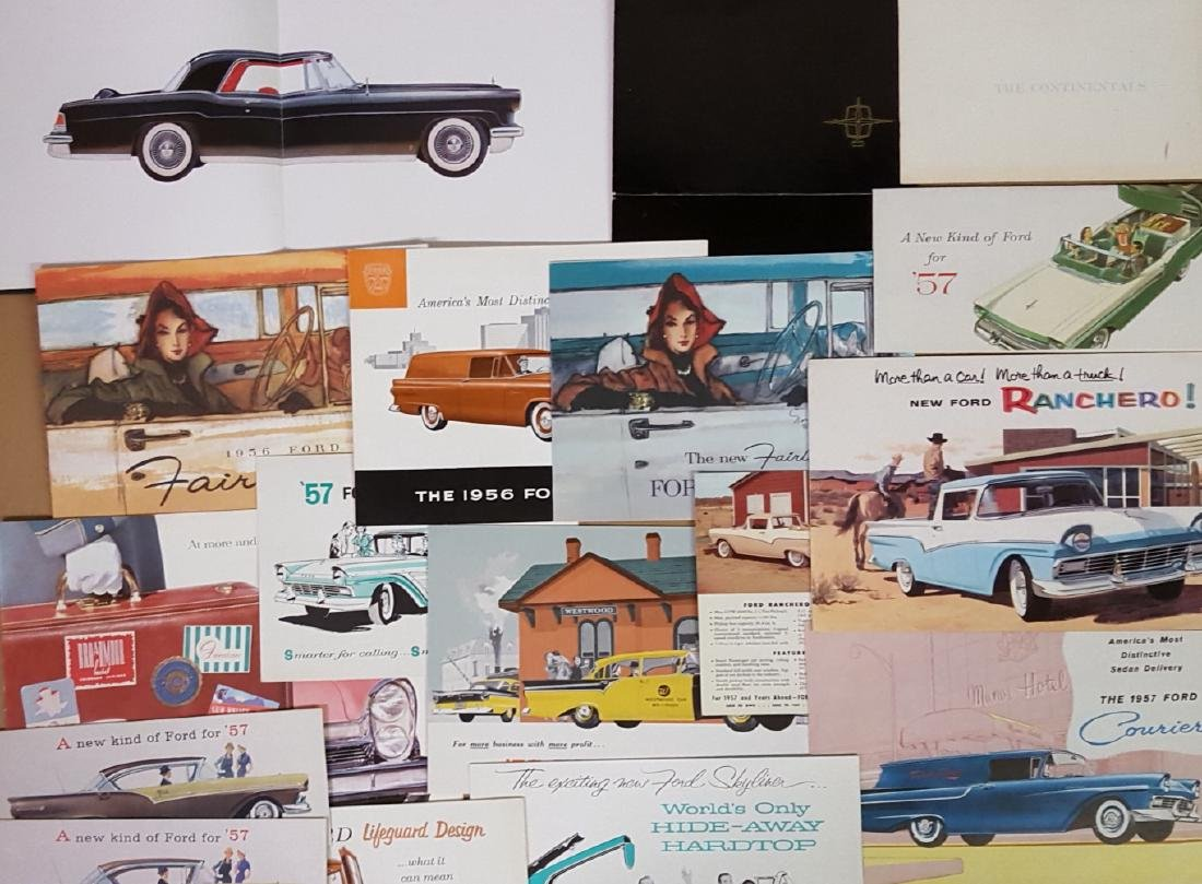 1955-1957 Ford Products brochures - 3