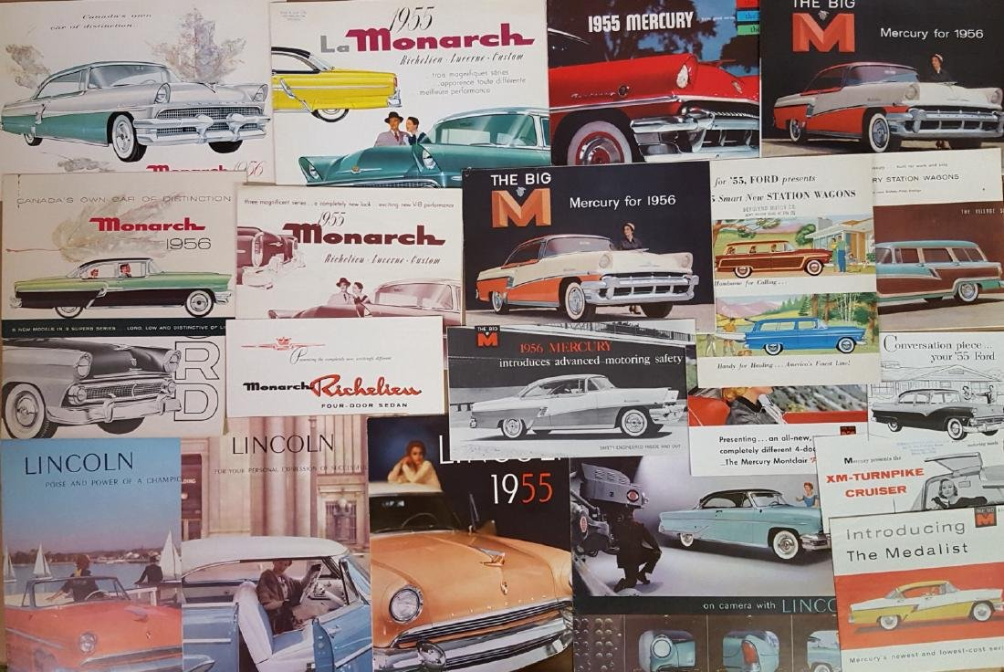 1955-1957 Ford Products brochures - 4
