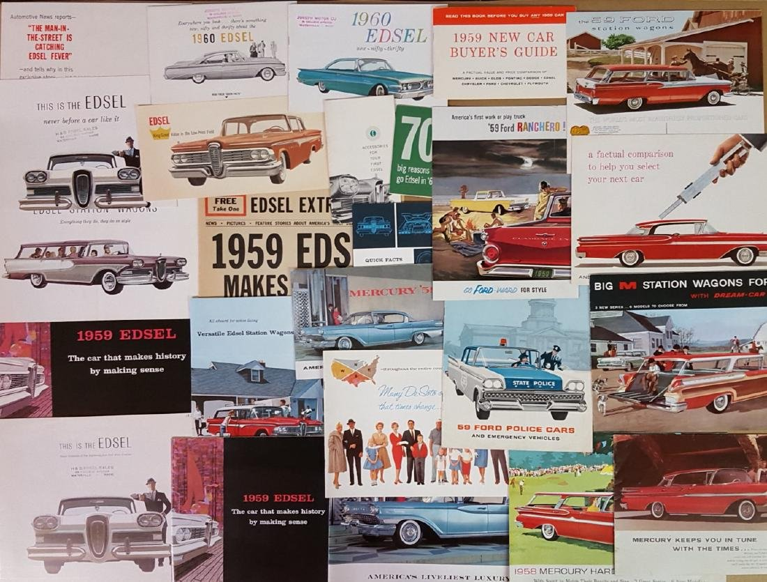 1958-1960 Ford products brochures