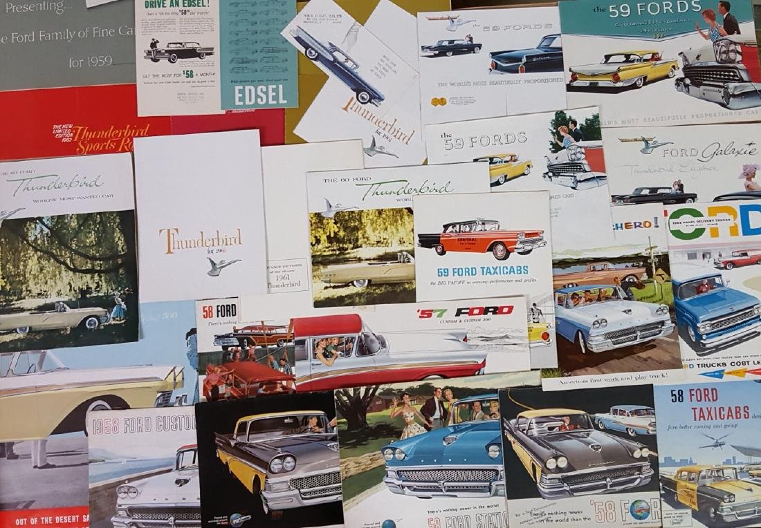 1958-1960 Ford products brochures - 2