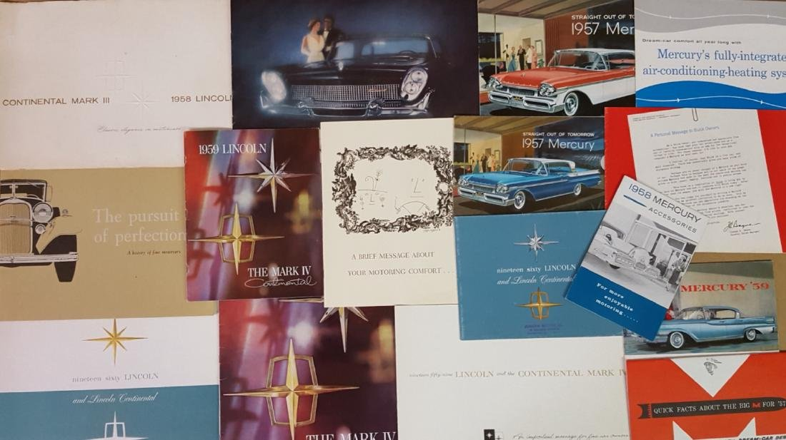 1958-1960 Ford products brochures - 3