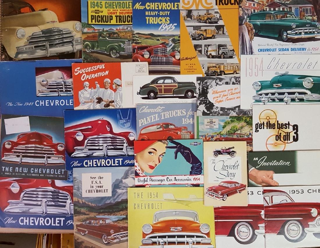 1945-1954 Chevrolet, Pontiac brochures - 3