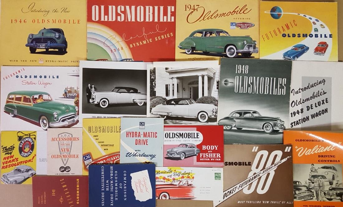 1949-1959 Pontiac, Olds