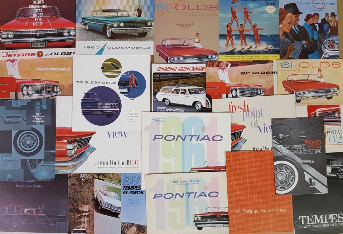 1955-1966 Pontiac, Olds brochures