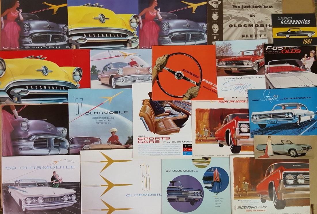 1955-1966 Pontiac, Olds brochures - 4