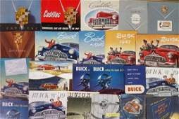 19461959 Buick and Cadillac brochures