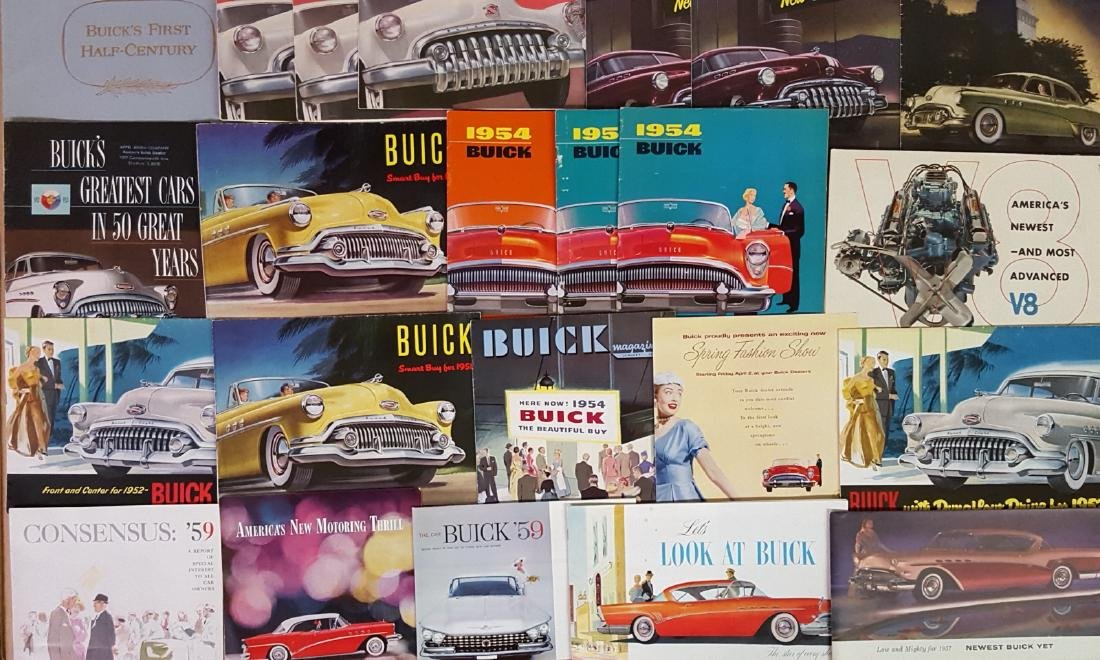1946-1959 Buick and Cadillac brochures - 3