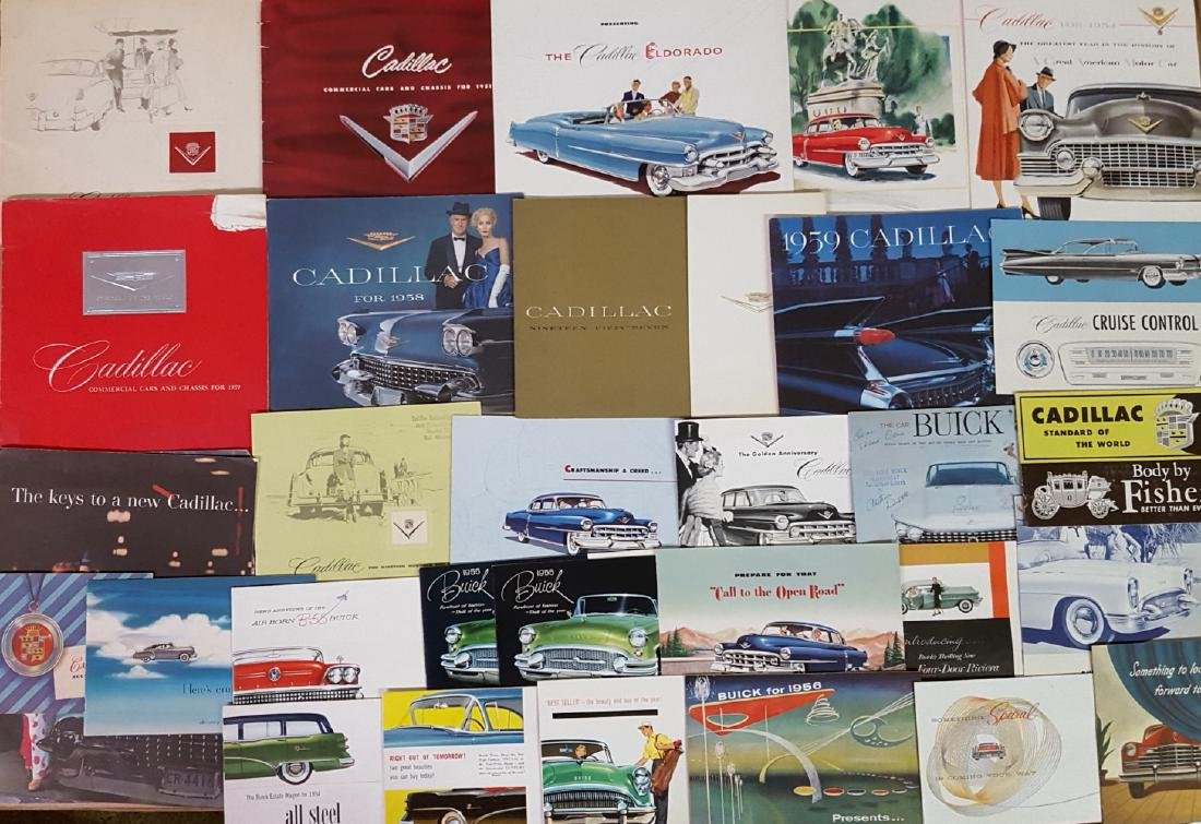 1946-1959 Buick and Cadillac brochures - 4