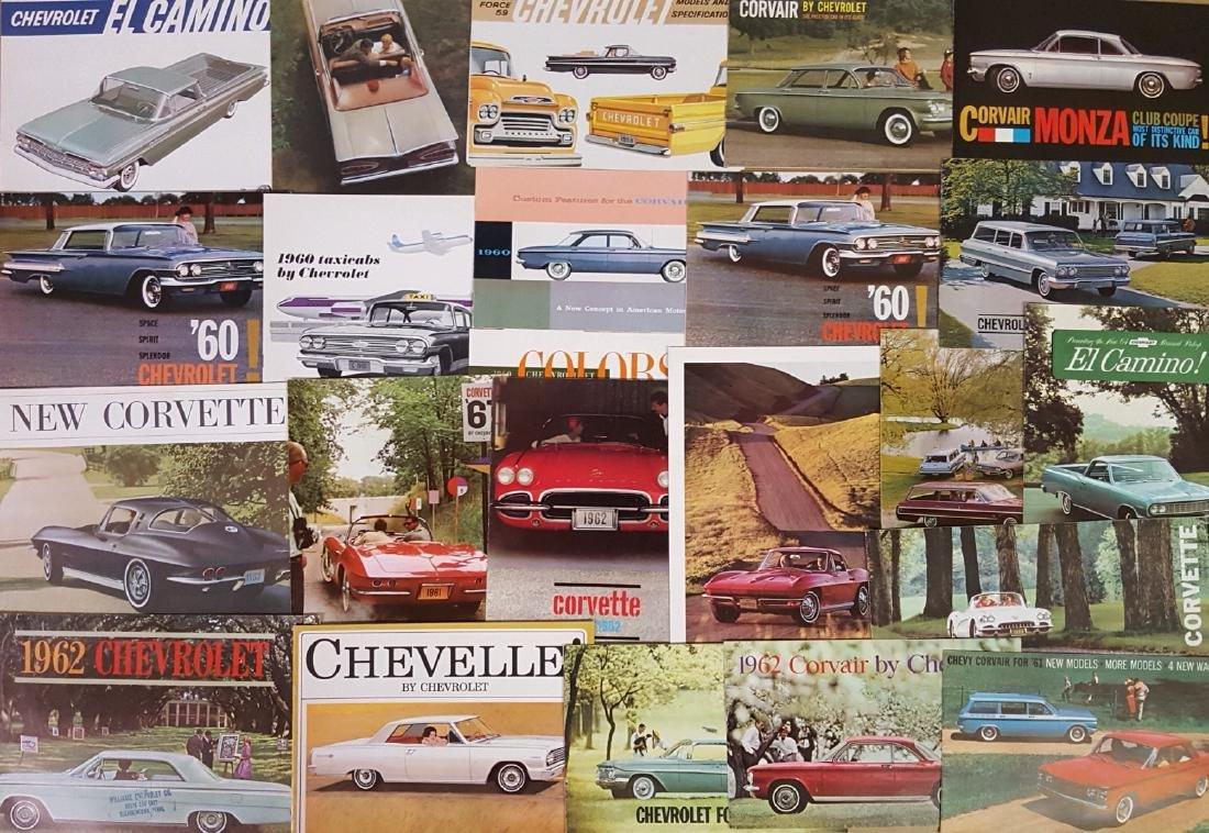 1955-1960 Chevrolet, Corvette brochures - 2