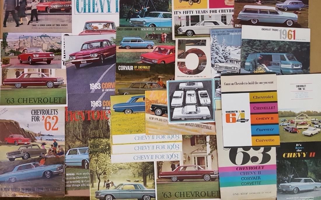 1955-1960 Chevrolet, Corvette brochures - 3