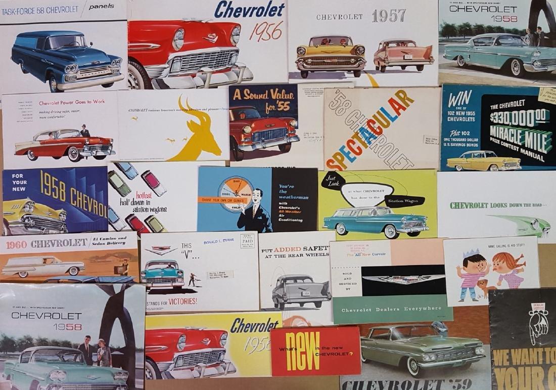 1955-1960 Chevrolet, Corvette brochures - 4