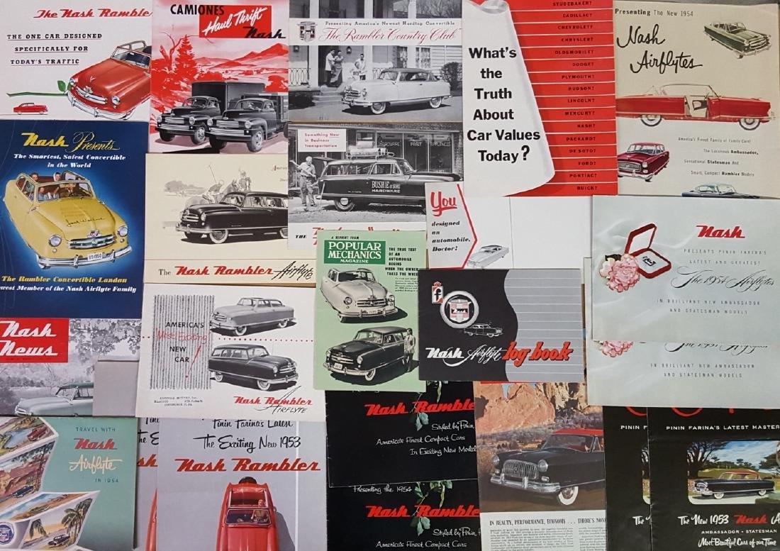 1946- 1953 Nash, Rambler brochures
