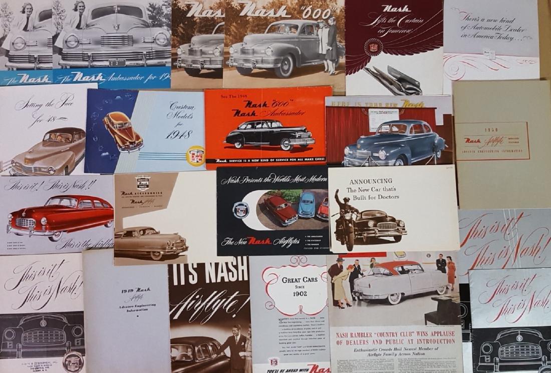 1946- 1953 Nash, Rambler brochures - 3