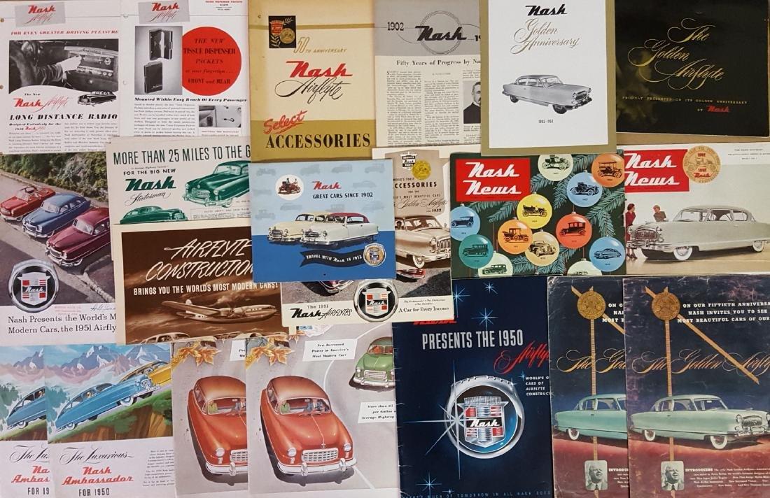 1946- 1953 Nash, Rambler brochures - 4