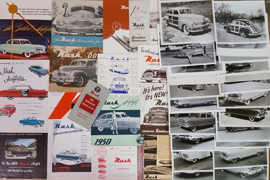 1946- 1953 Nash, Rambler brochures - 5