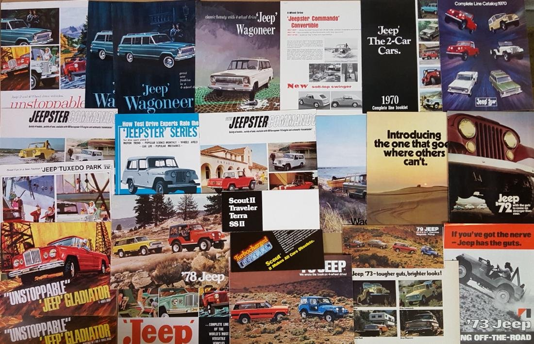 1945-1980 Jeep, International Scout brochures - 3