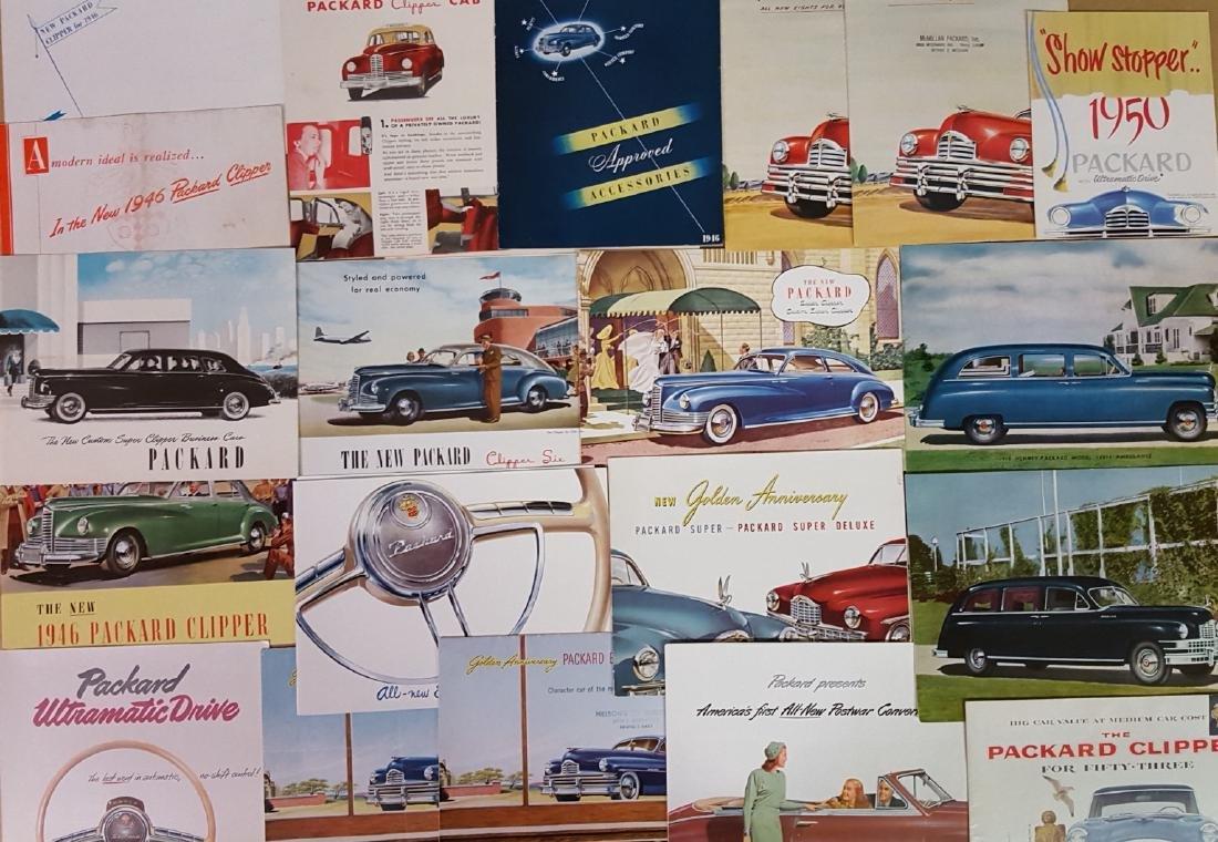 1946-1958 Packard brochures