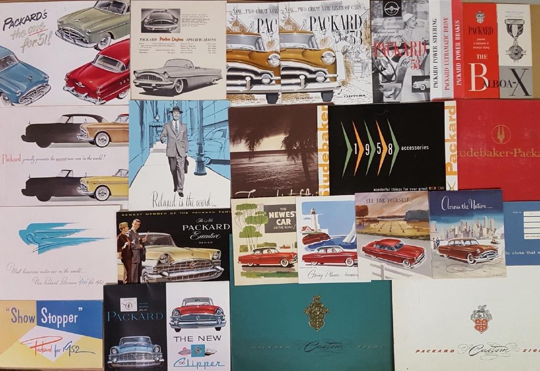 1946-1958 Packard brochures - 2