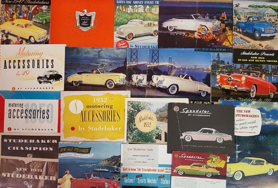 1947-1960's Studebaker brochures