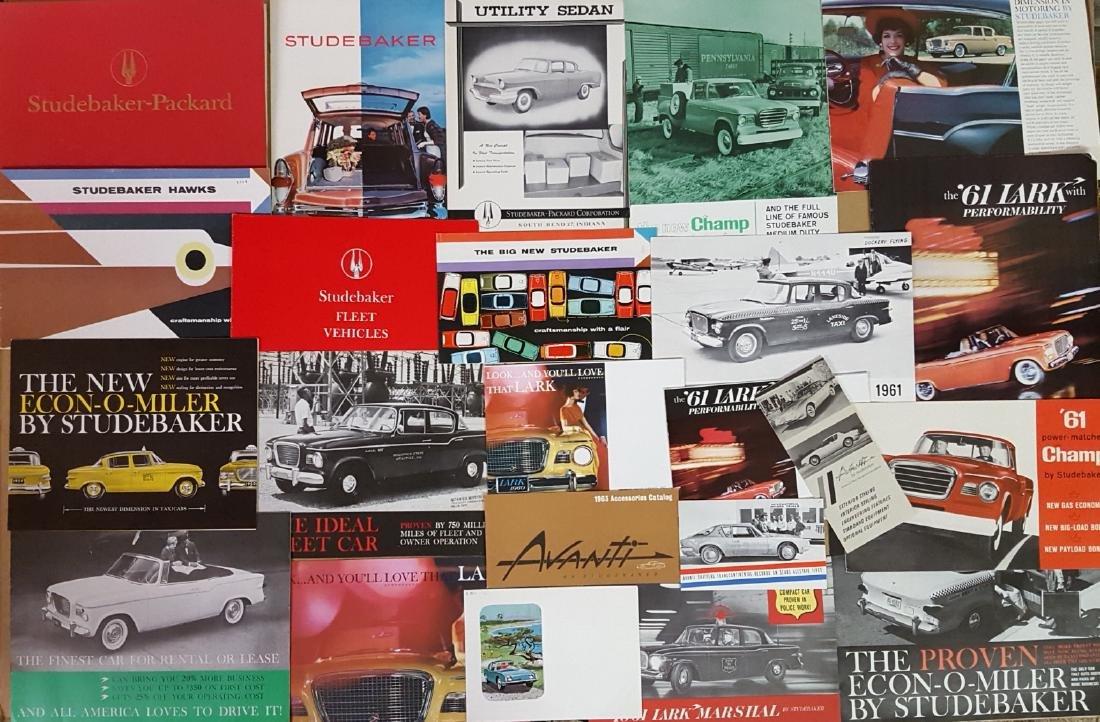 1947-1960's Studebaker brochures - 2