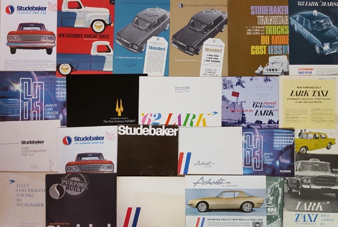 1947-1960's Studebaker brochures - 3