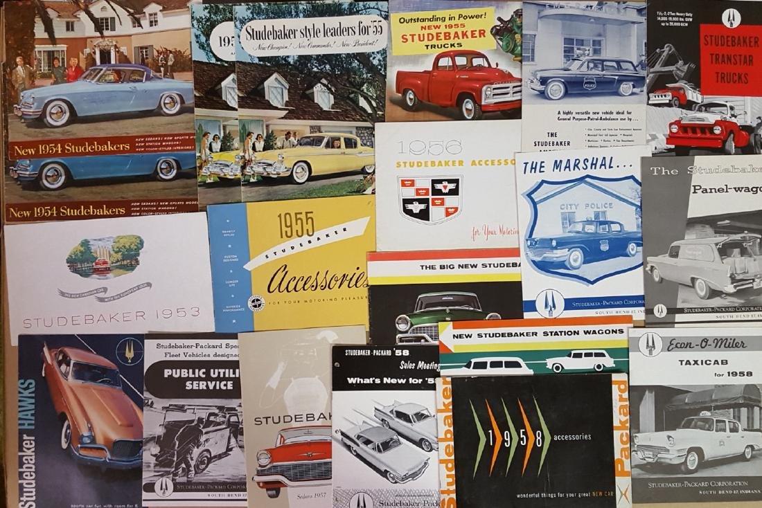 1947-1960's Studebaker brochures - 4