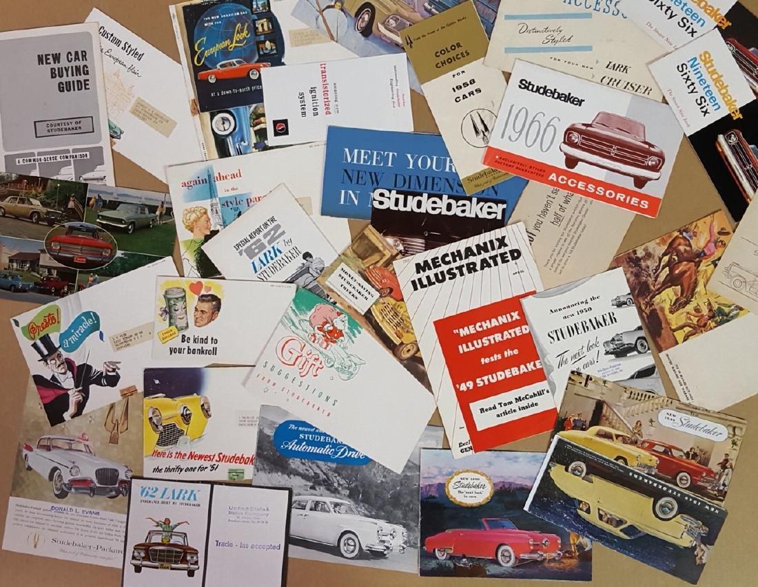 1947-1960's Studebaker brochures - 5