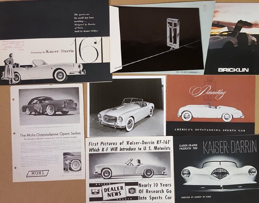 Misc sports and low production brochures