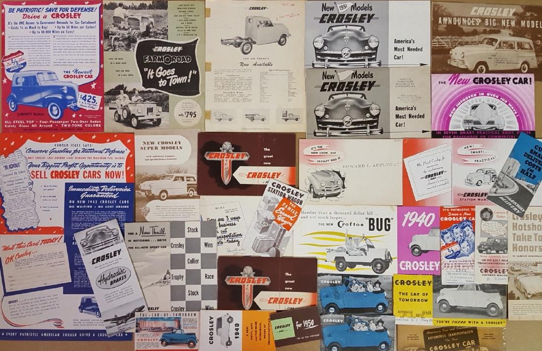 Misc sports and low production brochures - 2